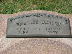 Emaline Emma <i>Bunday</i> Benson
