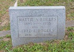 Martha A Mattie <i>Lieble</i> Rogers