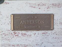Margaret Edith <i>Born</i> Anderson