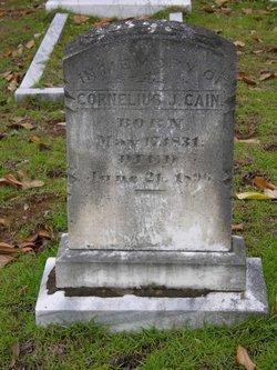Pvt Cornelius Jefferson Cain