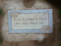 Ruth Elizabeth Frye