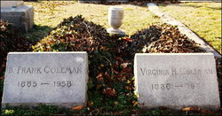 Benjamin Franklin Frank Coleman, Sr