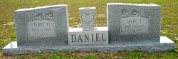 Mary <i>Tollison</i> Daniel
