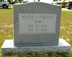 Walter James Sam Barfield