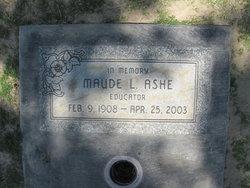 Maude Llewellyn Ashe