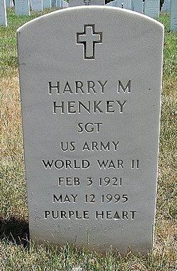 Harry Melvin Buddy Henkey