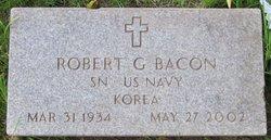 Robert G. Bob Bacon