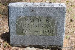 Maude E <i>Howard</i> Garrison