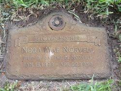 Nora Mae <i>Bowden</i> Norvell