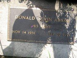 Donald Alvin Adams