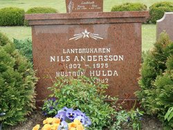Hulda <i>Persson</i> Andersson
