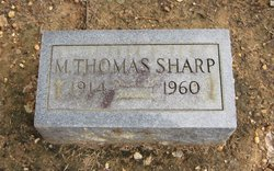 Major Thomas Sharp, Jr
