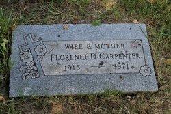 Florence Dorothy Babe <i>Werner</i> Carpenter