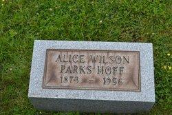Alice Lavina <i>Wilson</i> Hoff