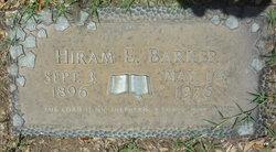 Hiram E Barker