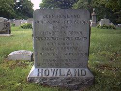 Elizabeth A. <i>Brown</i> Howland