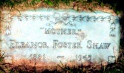 Eleanor <i>Foster</i> Shaw