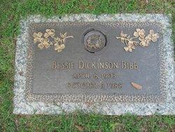 Bessie <i>Dickinson</i> Bibb