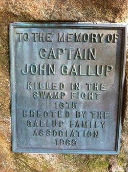 Capt John Gallup, Jr