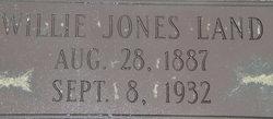 Willie Jones Land