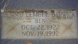 Bennie Lemuel Barwick