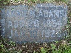 Annie M Adams