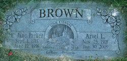 Arvel LeRoy Brown
