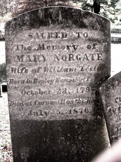 Mary <i>Norgate</i> Lester
