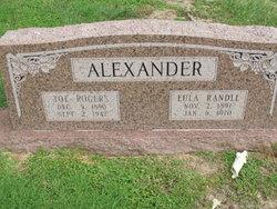 Eula <i>Randle</i> Alexander