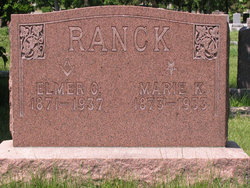 Marie K <i>Lange</i> Ranck