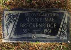 Minnie <i>McNutt</i> Breckenridge