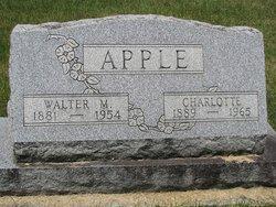 Walter M Apple