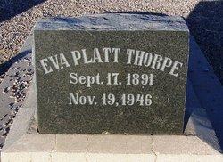Eva <i>Platt</i> Thorpe