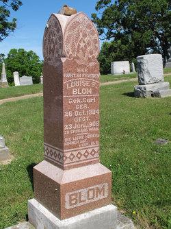 Louise F. <i>Carl</i> Blom