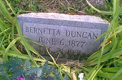 Bernetta Burnetty <i>Hatfield</i> Duncan