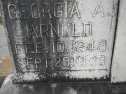 Georgia A Arnold