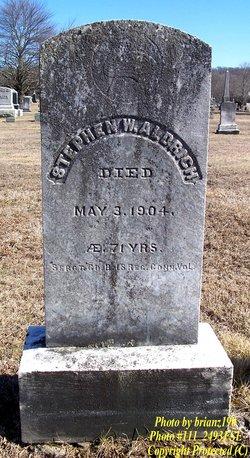 Stephen Walker Aldrich