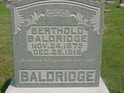 Berthold Baldridge