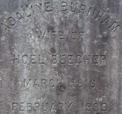 Adeline <i>Burnham</i> Beecher
