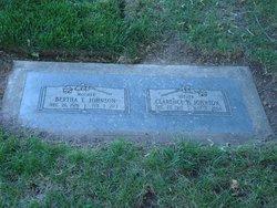 Bertha Frances Betty <i>Turner</i> Johnson