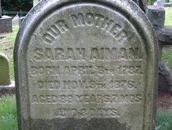 Sarah <i>Redheifer</i> Aiman