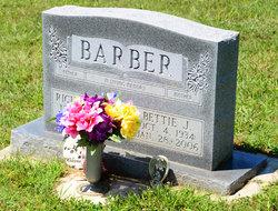 Bettie Jane <i>Huffman</i> Barber