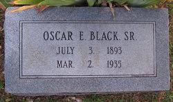Oscar E Black, Sr