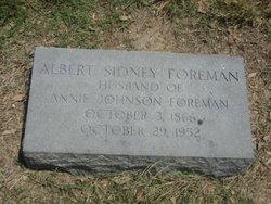 Albert Sidney Foreman