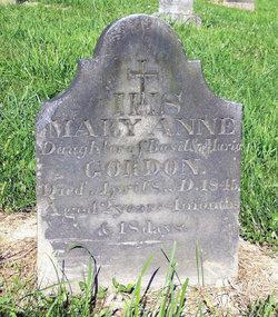 Mary Anne Gordon