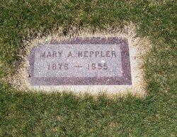 Mary Almina Mina <i>Rodeback</i> Heppler
