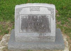 Bettie Louise <i>Irvine</i> Crawford