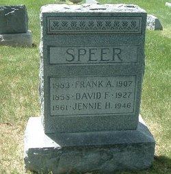 Jennie H Speer