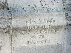 Ella F <i>Whiting</i> Allen