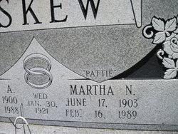 Martha S Pattie <i>Newsome</i> Askew